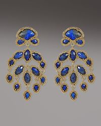 Kendra Scott | Blue Ashton Earrings, Lapis | Lyst