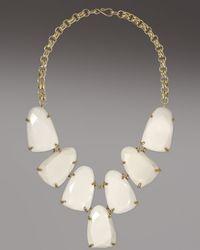 Kendra Scott | Harlow Necklace, White | Lyst