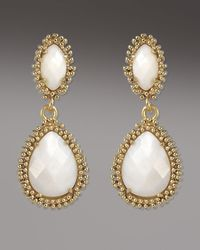 Kendra Scott | Metallic Kelli Earrings, Mother-of-pearl | Lyst