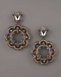 M.c.l  Matthew Campbell Laurenza | Multicolor Lace-drop Earrings | Lyst