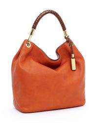 Michael Kors | Orange Skorpios Large Shoulder Bag, Tangerine | Lyst
