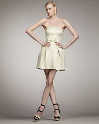 Rachel Zoe | White Nico Strapless Dress | Lyst