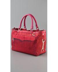 Rebecca Minkoff - Pink Canvas Mab Bag - Lyst
