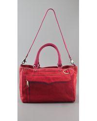 Rebecca Minkoff | Pink Canvas Mab Bag | Lyst