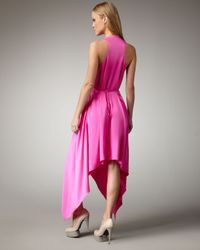 Robert Rodriguez | Pink Handkerchief Dress | Lyst