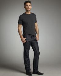 7 For All Mankind - Blue Standard-fit Mercer Jeans for Men - Lyst