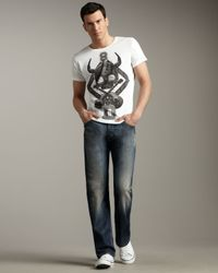 DIESEL | Blue Larkee 880k Relaxed Jeans for Men | Lyst