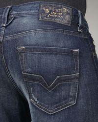 DIESEL - Blue Larkee Super Dark Indigo Jeans for Men - Lyst