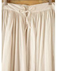 Free People - White Vintage Victorian Petticoat - Lyst