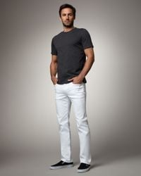 Joe's Jeans - Brixton Optic White Jeans for Men - Lyst