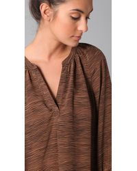 Joie | Brown Addie Blouse | Lyst