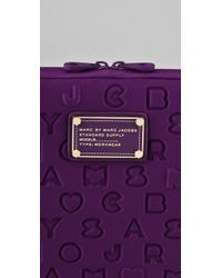 Marc By Marc Jacobs - Purple Stardust 11 Neoprene Computer Case - Lyst
