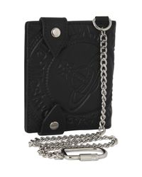 Vivienne Westwood | Black Orb Chain Wallet for Men | Lyst