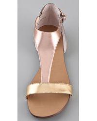 Boutique 9 - Sandals Piraya Color Block Metallic - Lyst