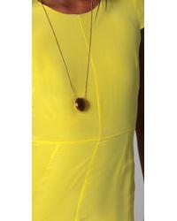Jenni Kayne - Cap Sleeve Yellow Gown - Lyst
