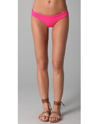 Tori Praver Swimwear | Pink Lily Bikini Bottoms | Lyst