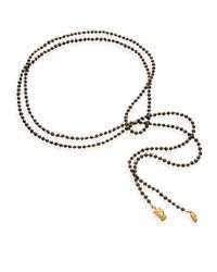 Astley Clarke | White Pearls Of Wisdom Lariat Necklace | Lyst