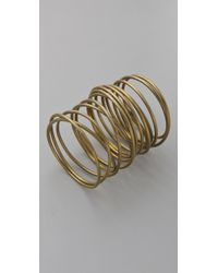 Kelly Wearstler - Metallic Twisted Brass Bracelet - Lyst