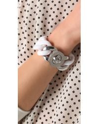 Marc By Marc Jacobs | White Candy Turnlock Exploded Katie Bracelet | Lyst