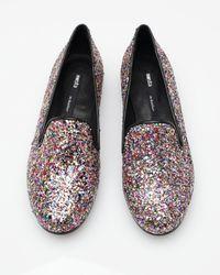 Miista | Multicolor Glitter Slipper | Lyst