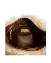 Miu Miu | Natural Lamb Shearling Hobo | Lyst