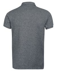 Polo Ralph Lauren - Gray Marl Grey Polo Shirt for Men - Lyst
