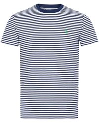 Polo Ralph Lauren | Blue Navy Nautical Stripe T-shirt for Men | Lyst