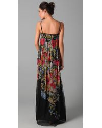 Dallin Chase - Multicolor Dani Floral Gown - Lyst
