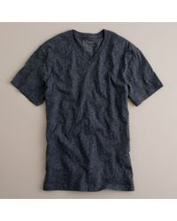 J.Crew | Blue Jaspé V-neck Tee for Men | Lyst
