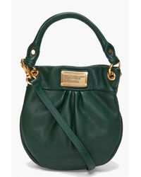 Marc By Marc Jacobs - Green Mini Hillier Hobo - Lyst