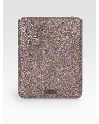 Jimmy Choo | Multicolor Glitter Case For iPad | Lyst