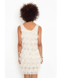 Nasty Gal | Natural Eyelash Fringe Dress  | Lyst