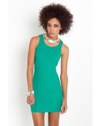 Nasty Gal - Green Envy Cutout Dress - Lyst