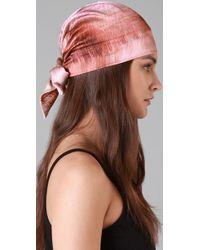 Eugenia Kim | Pink Gigi Headscarf | Lyst