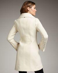 Mackage - White Diana Wool Coat - Lyst