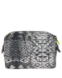 Marc By Marc Jacobs - Gray Small Pretty Nylon Cosmetics Bag - Lyst