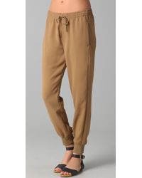 Vince - Brown Sweatpants - Lyst