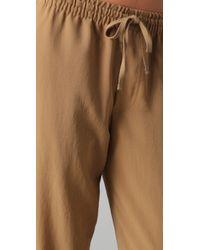 Vince | Brown Sweatpants | Lyst