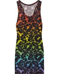 Christopher Kane | Black Rainbow Dress | Lyst
