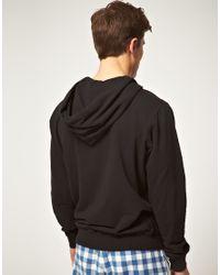 DIESEL - Black Hoodie for Men - Lyst