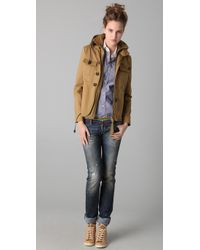 DSquared² | Brown Woodstock Jacket | Lyst