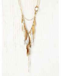 Free People - Metallic Convertible Relic Necklace - Lyst