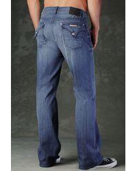 Hudson Jeans - Blue Fletcher Flap Pocket Relaxed Bootcut for Men - Lyst