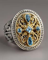 Konstantino - Blue Topaz Ring - Lyst