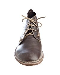Mark Nason | Lounge Brown Leather Black Jaw Chukka Boots for Men | Lyst