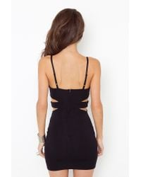 Nasty Gal - Black Paramour Bodycon Dress - Lyst