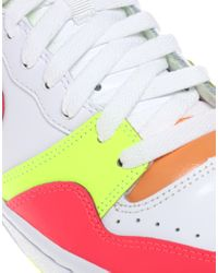 Nike | White Court Force High Top Trainers | Lyst