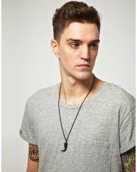 Cheap Monday | Black Exclusive To Asos Hawk Necklace for Men | Lyst