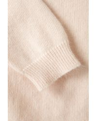 TOPSHOP | Pink Knitted Fluffy Ballet Wrap | Lyst