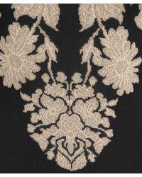 Alexander McQueen - Black Floral Print Dress - Lyst